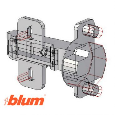 Blum CLIPTOP Hinges with Blummotion