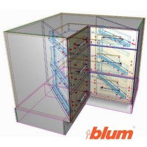 Blum Spacecorner