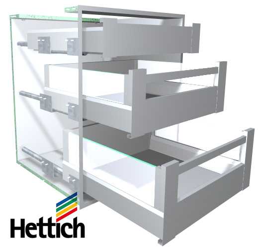 Hettich Arcitech Drawer System