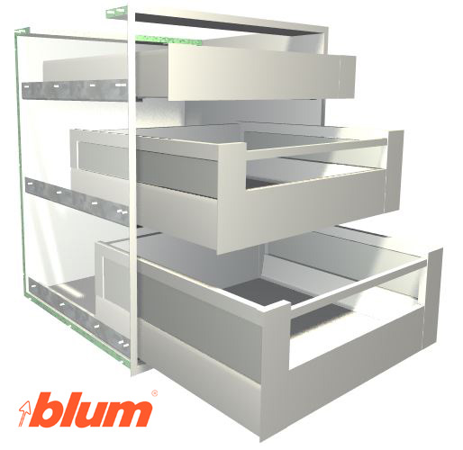 Blum TANDEMBOX Antaro Drawer System