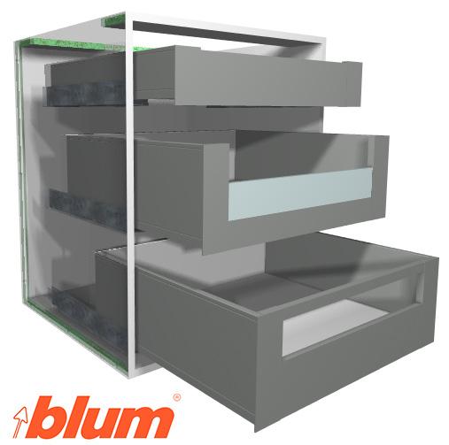 Blum LEGRABOX Drawer System