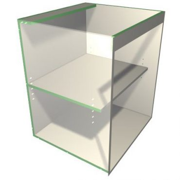 Rail Control for Base Cabinets
