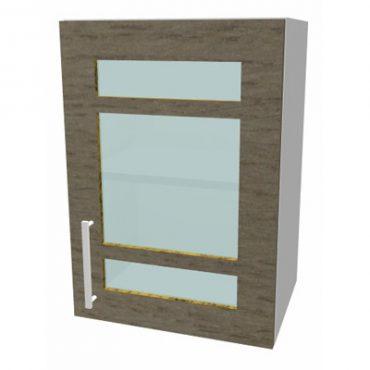 Slab Door Glass Route Control
