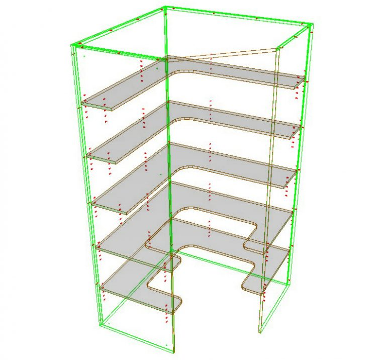 Shelf Shape Editing with Attributes