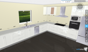 Design a kitchen like this in minutes