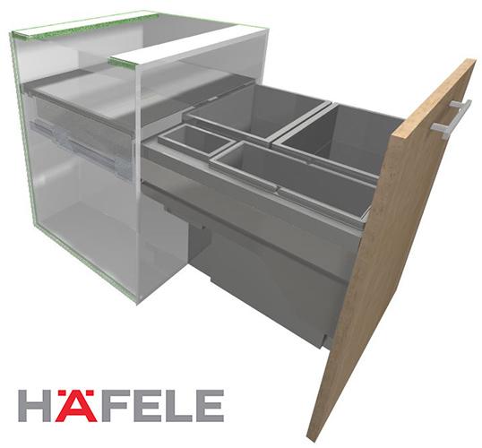 Hafele Hailo Euro Cargo ST45/60