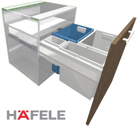 Hafele Hailo Laundry Carrier 45/60