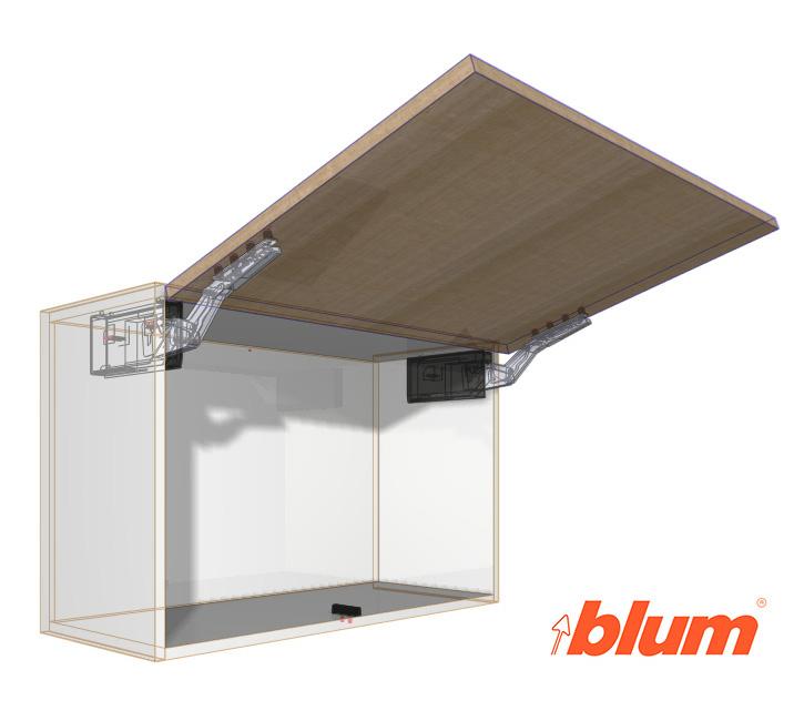 Blum AVENTOS HK-TOP + SERVO and TIPON